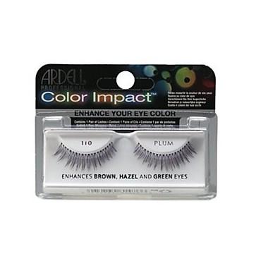 Ardell - Pestañas postizas Color Impact 110 Plum.