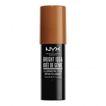 Nyx Professional Makeup - Iluminador en stick Bright Idea - BIIS12: Topaz tan