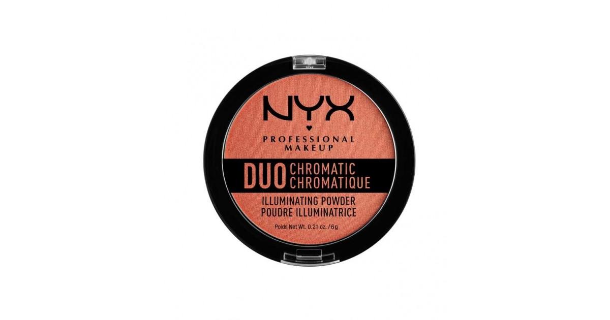 Nyx Professional Makeup - Iluminador Duo Chromatic Illuminating Powder - DCIP05: Synthetica