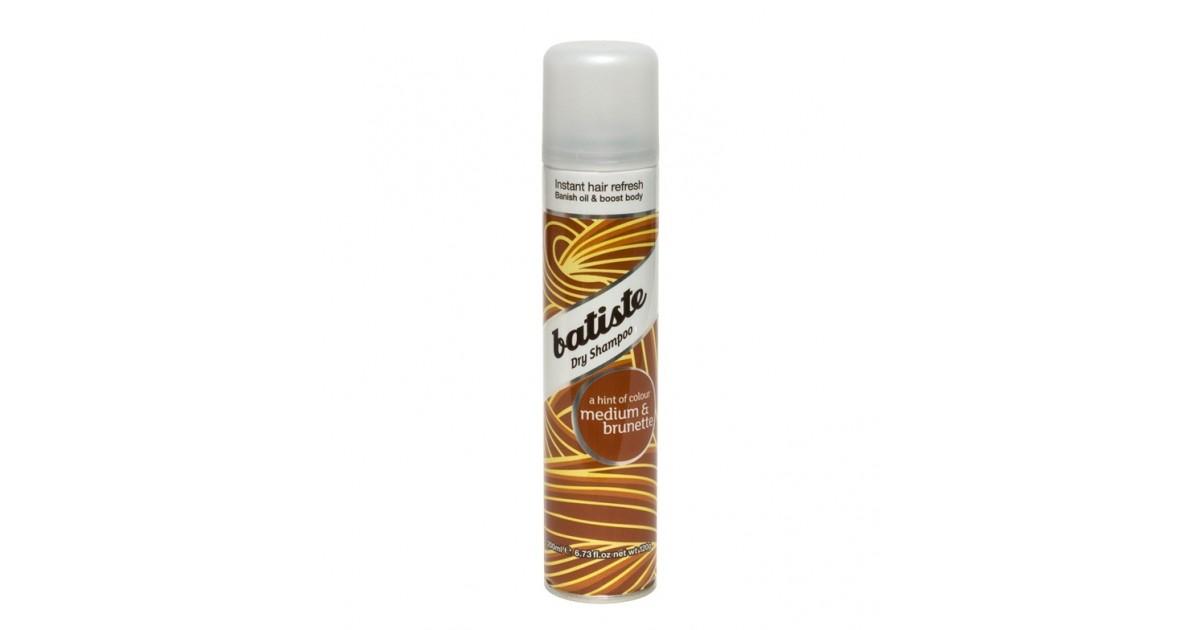 Batiste - Champu en seco para cabellos castaños 200ml - Medium & Brunette