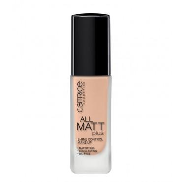 Catrice - Base de maquillaje All Matt Plus - Shine Control Make Up - 015 Vanilla Beige