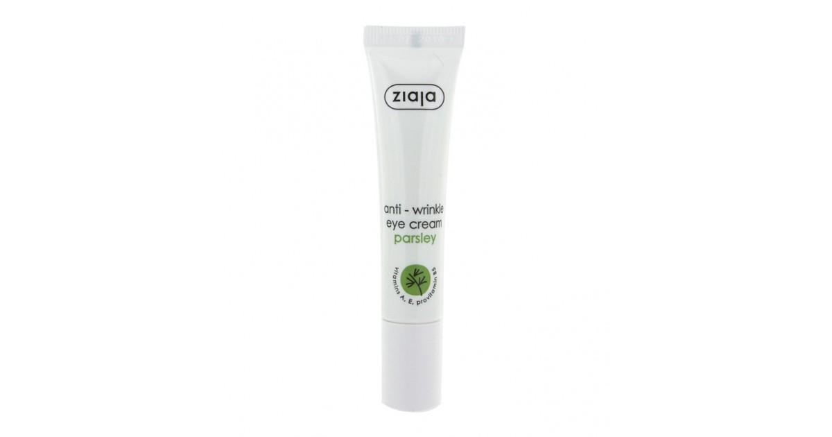 Ziaja - Crema contorno de ojos antiarrugas con perejil 15ml