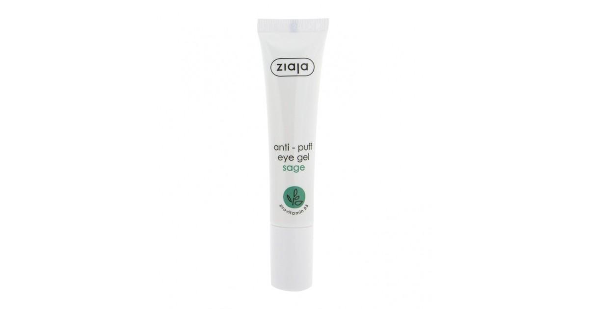 Ziaja - Crema contorno de ojos en gel antibolsas con Salvia 15ml