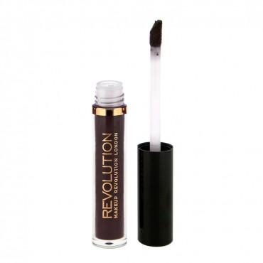 Makeup Revolution - Labial líquido mate Salvation Velvet - Black Heart