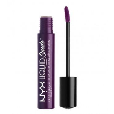 Nyx Professional Makeup -Labial Líquido Suede Cream Lipstick - Subversive Socialite