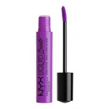 NYX Professional Makeup - Labial Líquido Suede Cream Lipstick - Run the World - LSCL15