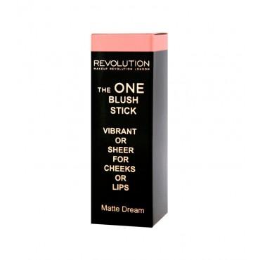 Makeup Revolution - Colorete en Stick The One - Matte Dream