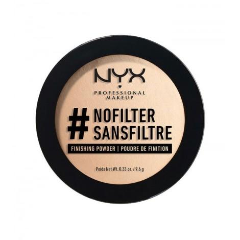 Nyx Professional Makeup - Polvos Compactos NoFilter - Porcelain