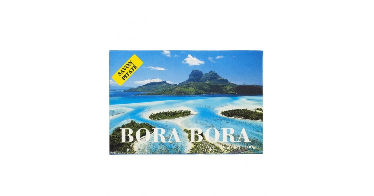 Tiki Tahití - Jabón De Pitate Bora Bora con Foto
