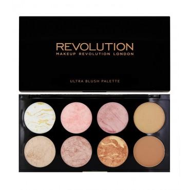 Makeup Revolution - Paleta de coloretes y contorno Ultra - Golden Sugar