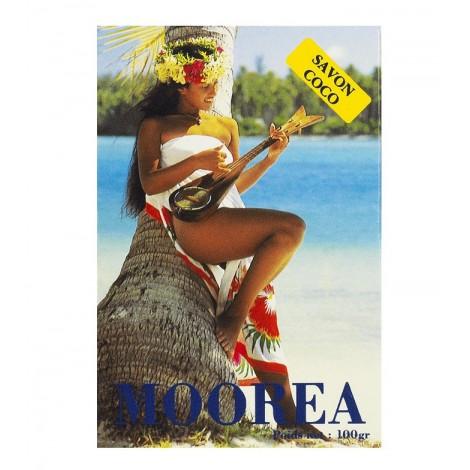 Tiki Tahití - Jabón De Coco Moorea con Foto