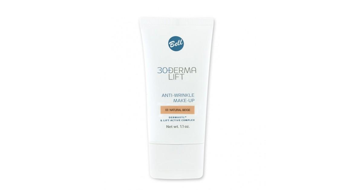 Bell - Base de maquillaje Derma Lift 30+ 03 Natural Beige