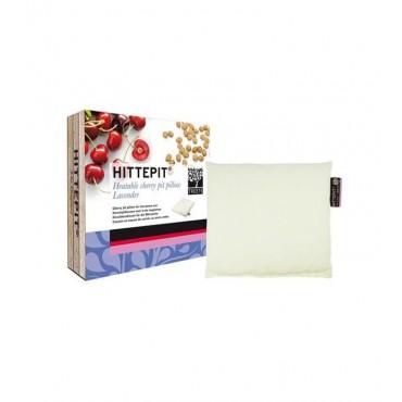 Treets - Hittepit - Cojín cuadrado térmico de semillas de cereza y lavanda