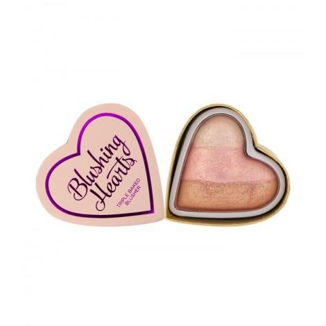 I Heart Makeup - Colorete Hearts - Iced Hearts