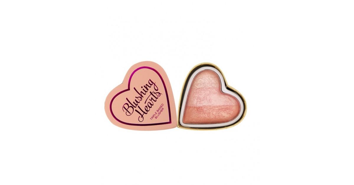 I Heart Makeup - Colorete Hearts - Peachy Pink Kisses