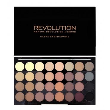 Makeup Revolution - Paleta de sombras - Flawless Matte