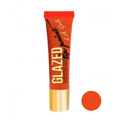 L.A. Girl - Labial Líquido Glazed Lip Paint - GLG782 Hot Mess