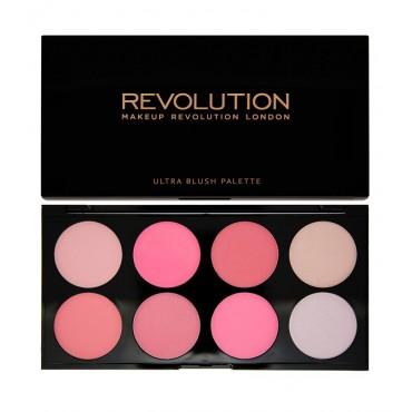 Makeup Revolution - Paleta de Colorete Ultra - All About Pink