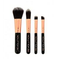 Makeup Revolution - Set de mini brochas Pro Go