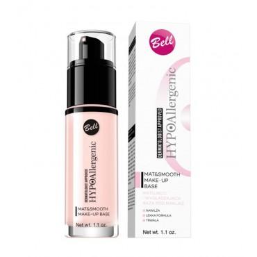 Bell - Prebase de maquillaje Matificante y Suavizante hipoalergénica Mat&Smooth