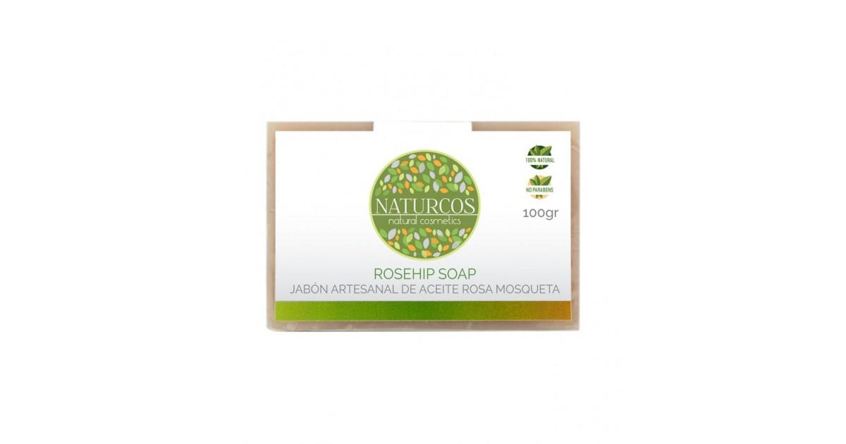 Naturcos - Jabón Artesanal de Aceite Rosa Mosqueta