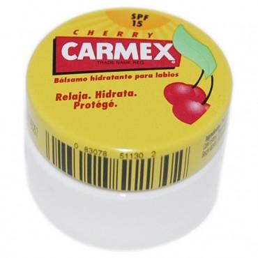 Carmex - Tarro - Cereza - Bálsamo labial con SPF 15
