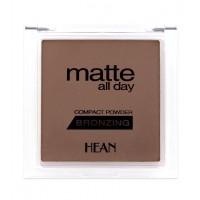 Hean - Polvo Bronceador Matte all Day Compact Powder - 506: Bahama Sun
