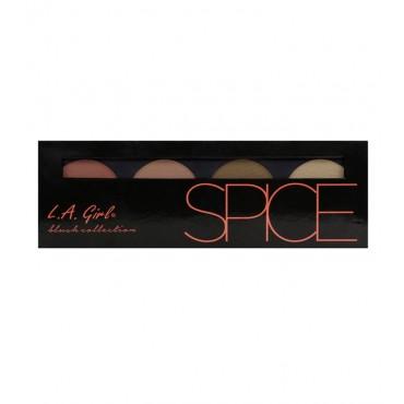 L.A. Girl - Paleta Beauty Brick Blush Collection - Spice