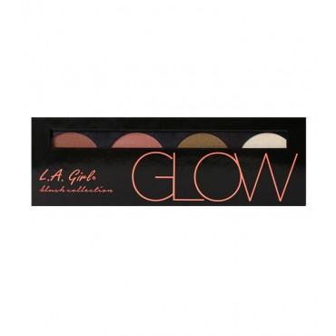 L.A. Girl - Paleta Beauty Brick Blush Collection - Glow