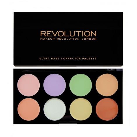 Makeup Revolution - Paleta de Correctores Ultra Base