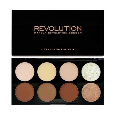 Makeup Revolution - Paleta Contorno en polvo Ultra Contour