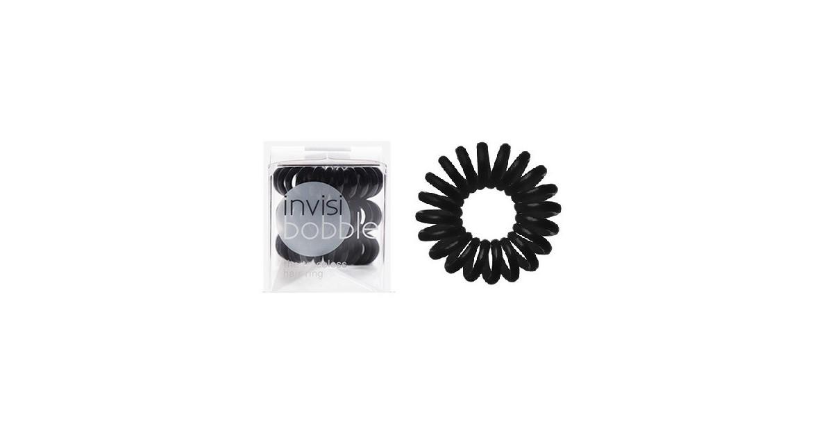 InvisiBobble Pack 3 coleteros - True Black