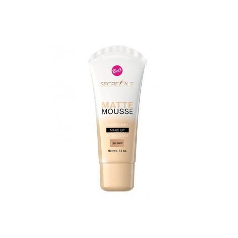 Bell - Secretale - Base de maquillaje Matte Mousse - 04: Sand