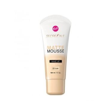 Bell - Base de maquillaje Secretale Matte Mousse - 01: Nude