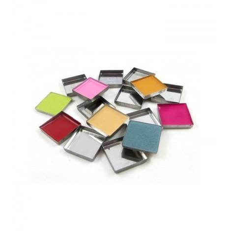 Zpalette - Godet metálicos vacíos cuadrados (pans)