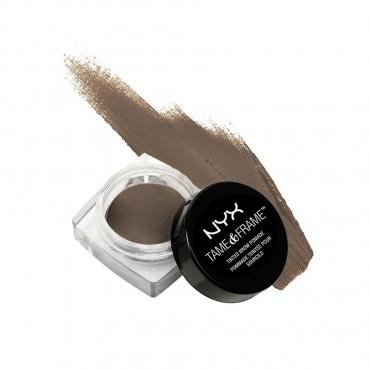 NYX Professional Makeup - Gel para cejas Tame & Frame Brow Pomade - TFBP03: Brunette