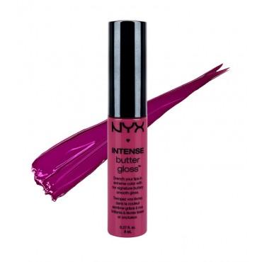 NYX Professional Makeup - Brillo de labios Intense Butter Gloss - IBLG12: Spice Cake