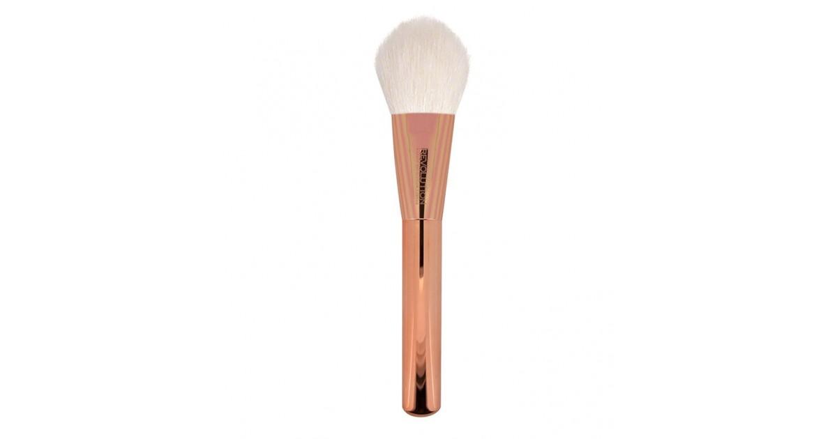 Makeup Revolution - Brocha para polvos Ultra Metals Flawless Brush - F301