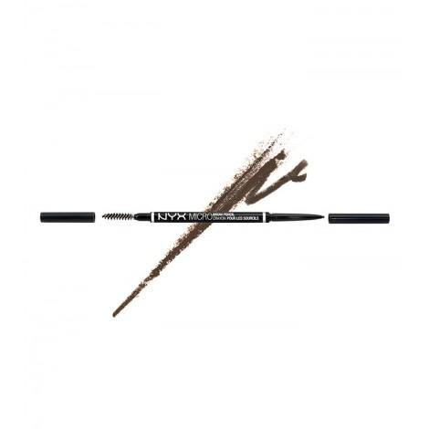 NYX Professional Makeup - Lápiz para cejas Micro Brow - MBP05: Ash Brown