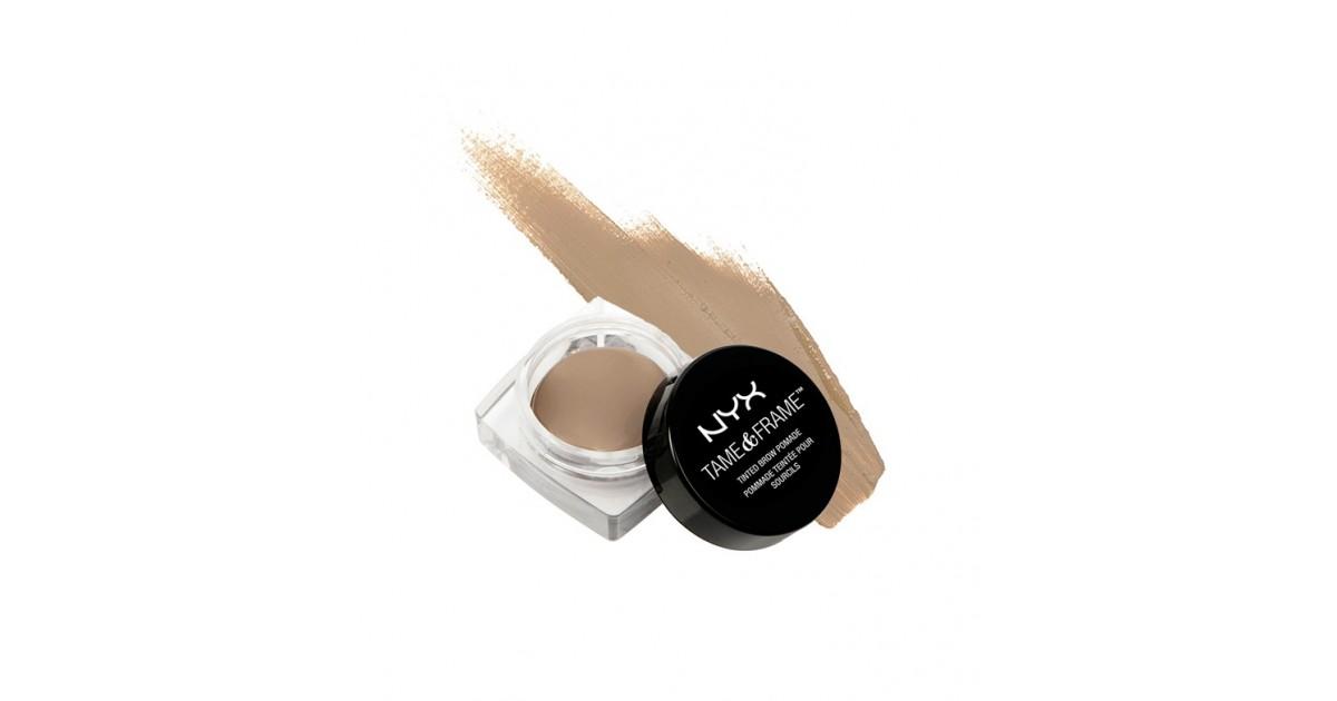 NYX - Gel para cejas Tame & Frame Brow Pomade - TFBP01: Blonde