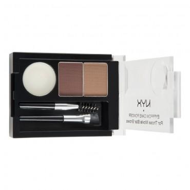 NYX Professional Makeup - Kit de cejas - ECP04: Brun Rouge