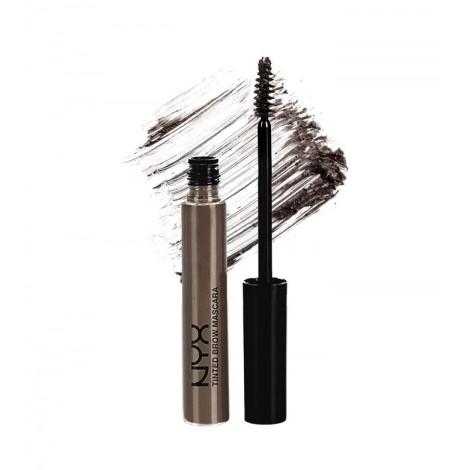 NYX Professional Makeup - Fijador para cejas con tinte - Black