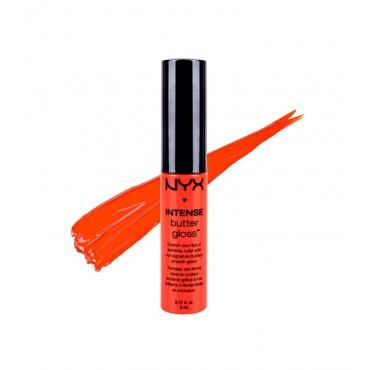 NYX - Brillo de labios Intense Butter Gloss - IBLG04: Orangesicle
