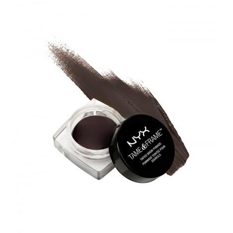 NYX Professional Makeup - Gel para cejas Tame & Frame Brow Pomade - TFBP05: Black