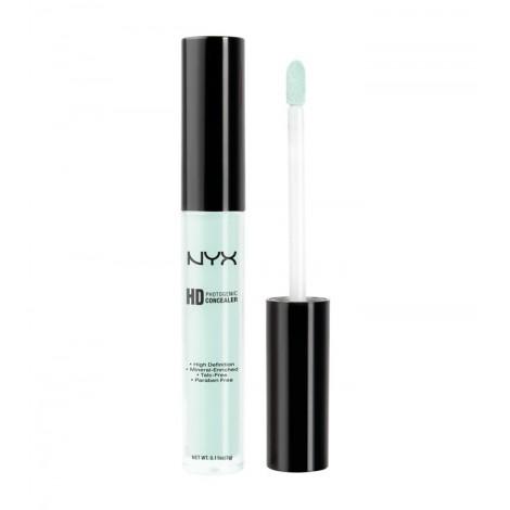NYX - Corrector líquido HD - CW12: Green