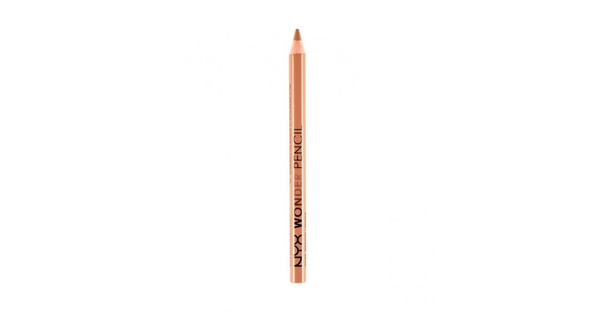 NYX - Lápiz corrector e iluminador de ojos y labios Wonder Pencil - WP03: Dark