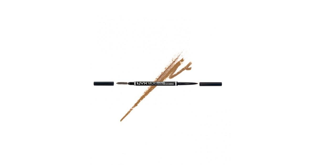 NYX - Lápiz para cejas Micro Brow - MBP02: Blonde