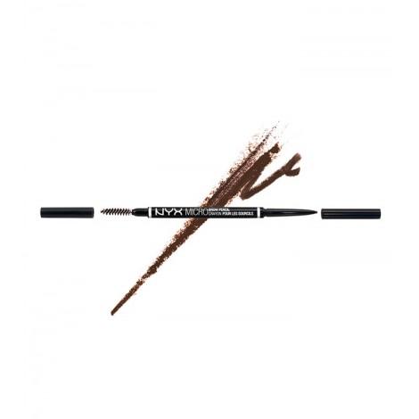 NYX Professional Makeup - Lápiz para cejas Micro Brow - MBP06: Brunette