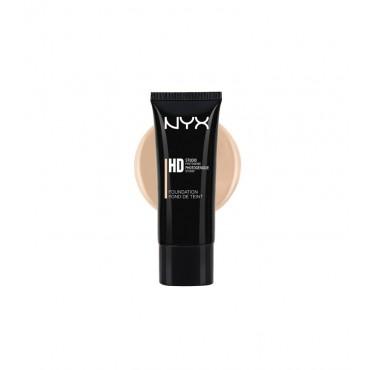 NYX - Base de maquillaje fluida HD Studio Photogenic - HDF101: Nude