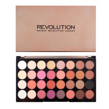 Makeup Revolution - Paleta de sombras - Flawless 4